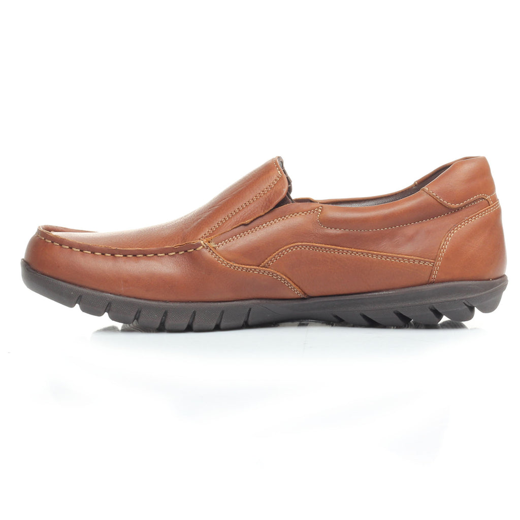 Men's Loafers - Brown - Comfort Fits - Pavers England
