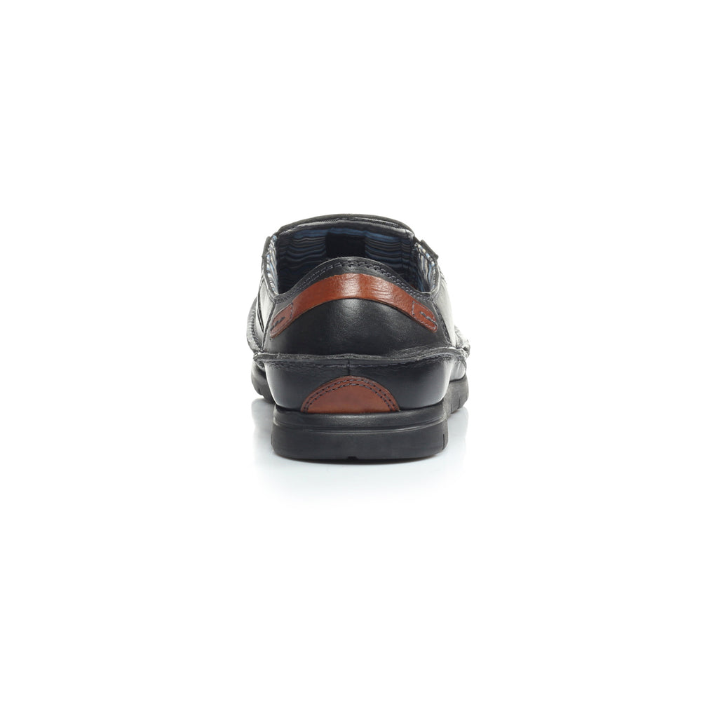 Men's Loafers - Black - Comfort Fits - Pavers England