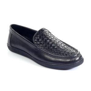 Men's Loafers - Black - Slip ons - Pavers England