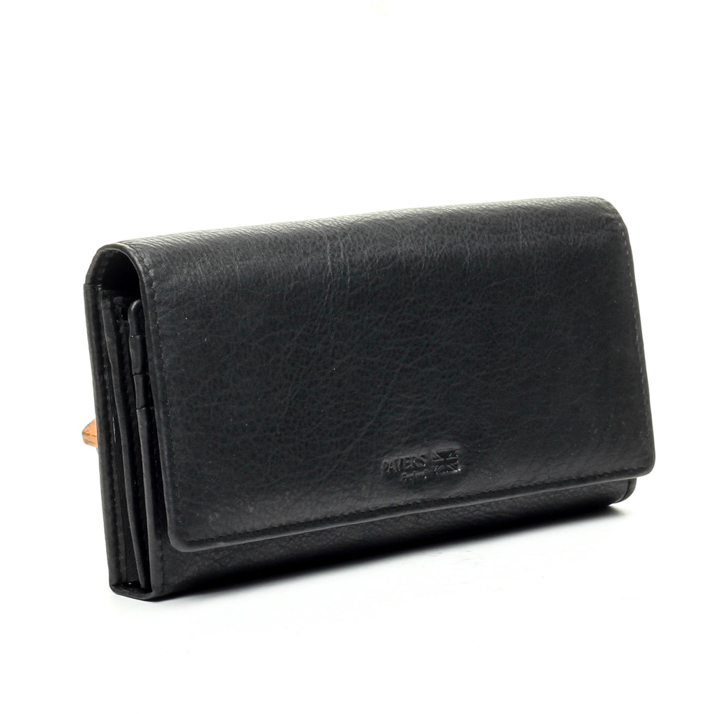 Women's Wallet - Black - Bags & Accessories - Pavers England