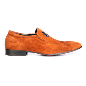 Men's Slip-on Shoe-Tan