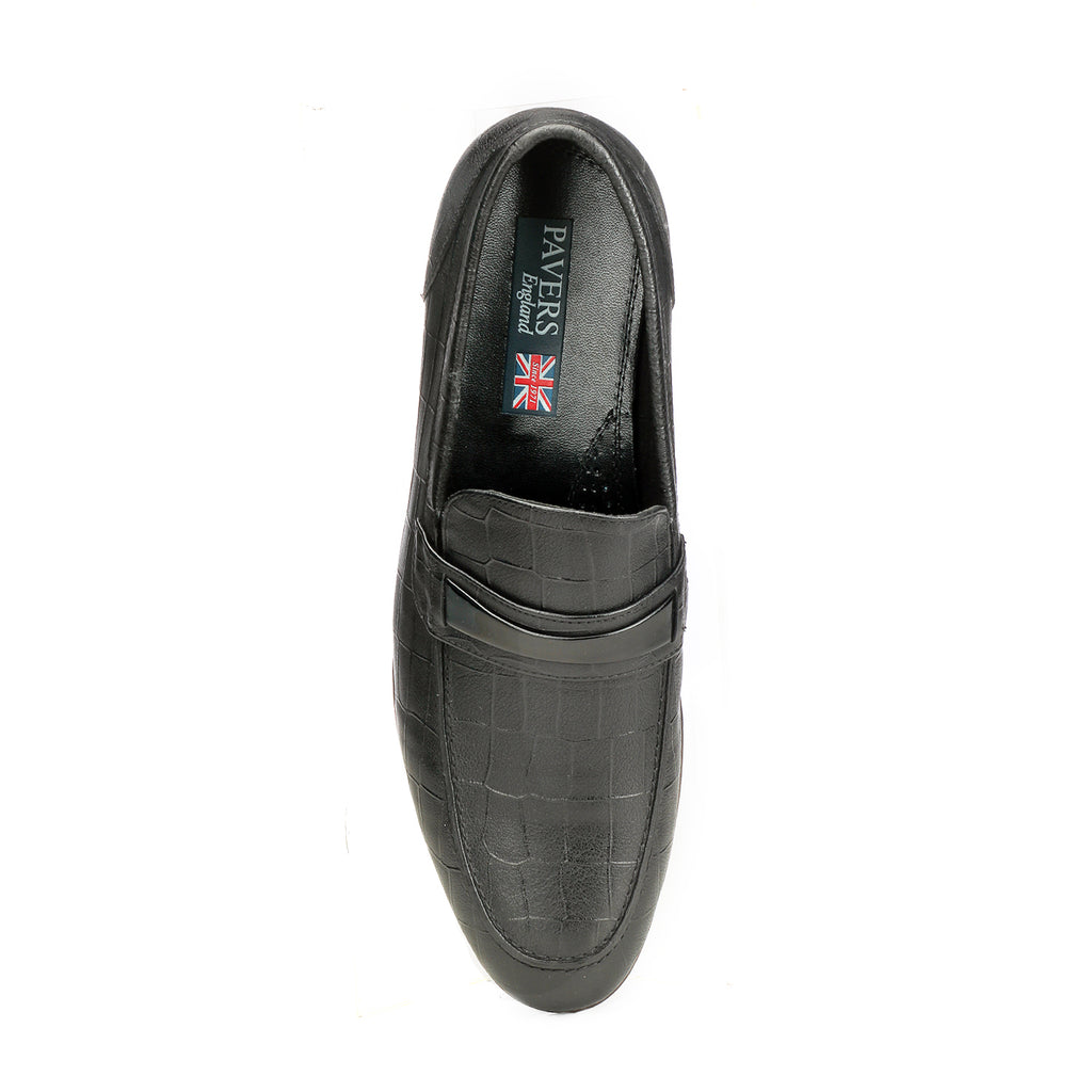 Men's Loafers - Black - Formal Loafers - Pavers England