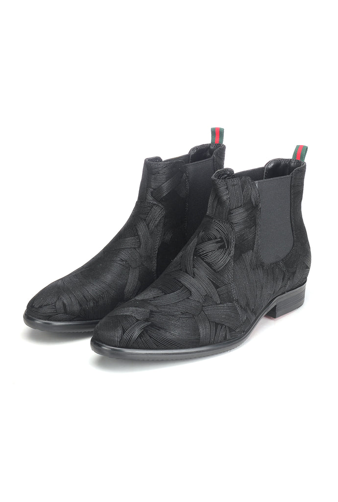 Men's Boot-Black - Ankleboots - Pavers England
