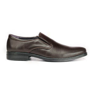 Cut Sew Penny Loafers -  Brown - Formal Loafers - Pavers England