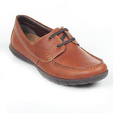 Men's Lace-up Shoe - Brown - Comfort Fits - Pavers England