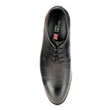Men's Formal Shoe - Black - Laced Shoes - Pavers England