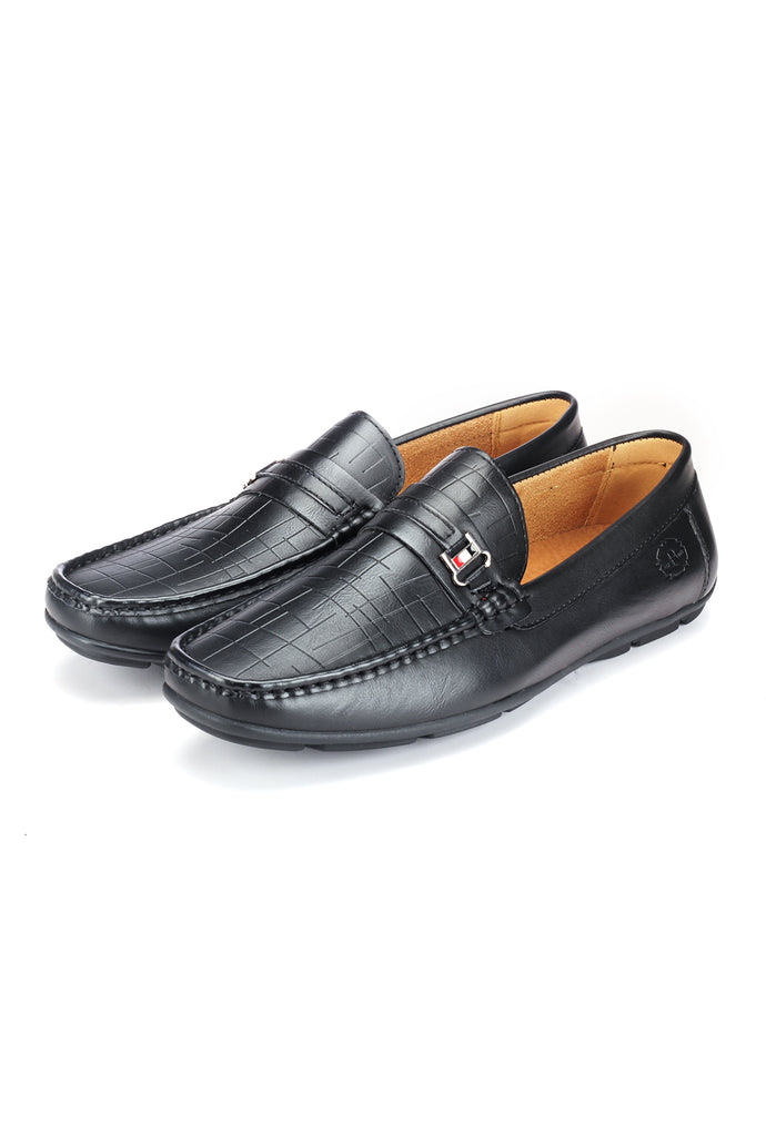 Textured Loafers for Men