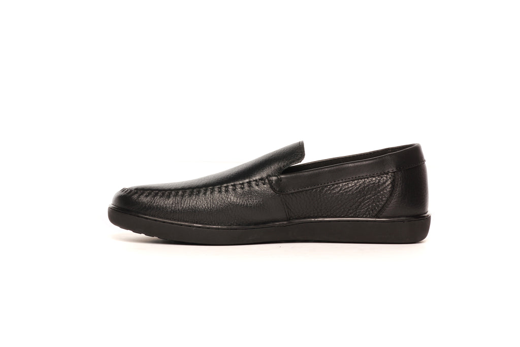 Men's Loafers - Black - Moccasins - Pavers England