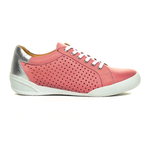 Women's Lace-up-Pink - Sneakers - Pavers England