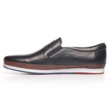 Men's Slip-on Shoe - Navy - Sneakers - Pavers England