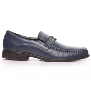 Men's Loafers - Navy - Slip ons - Pavers England