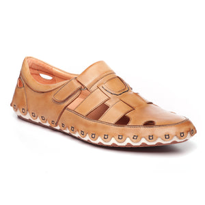 Men's Sandal - Tan - Sandals - Pavers England