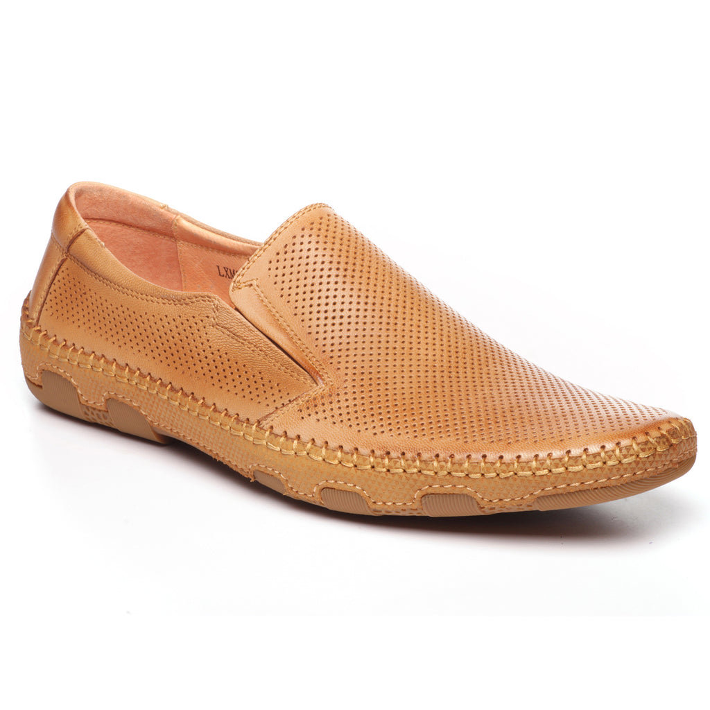 02714dc8bc99 Pavers England laser-cut leather casual shoes for men