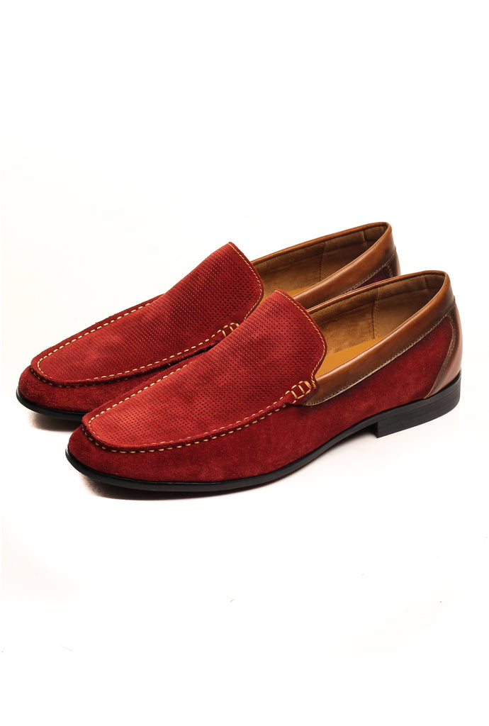 Men's Loafers - Burgundy - Pavers England