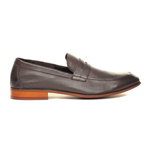 Men's Slip-on Shoe-Brown - Slip ons - Pavers England