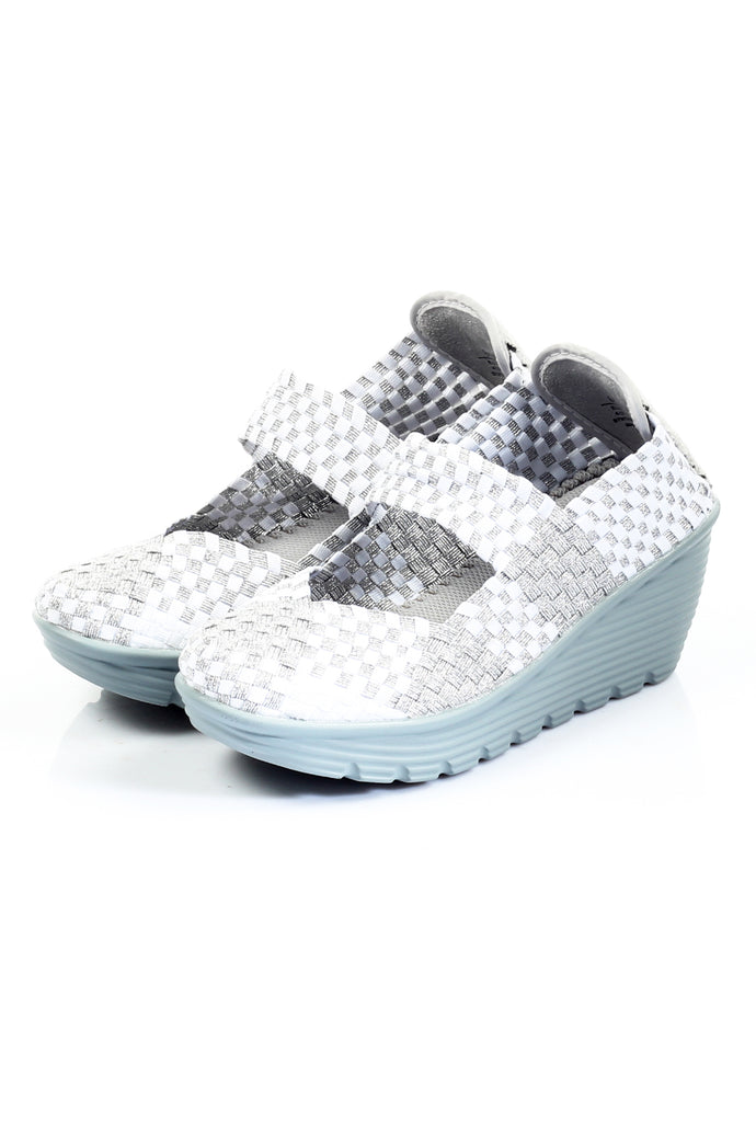 Women's Shoe - White - Full Shoes - Pavers England