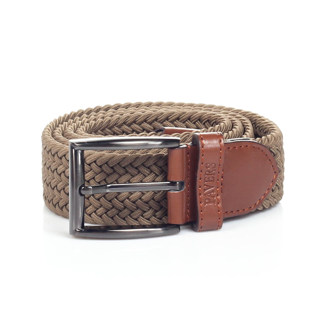 Men's Perforated Casual Belt - Mens - Pavers England