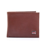 Brown Formal/Casual Leather Wallet With Card Holder For Men - Mens - Pavers England