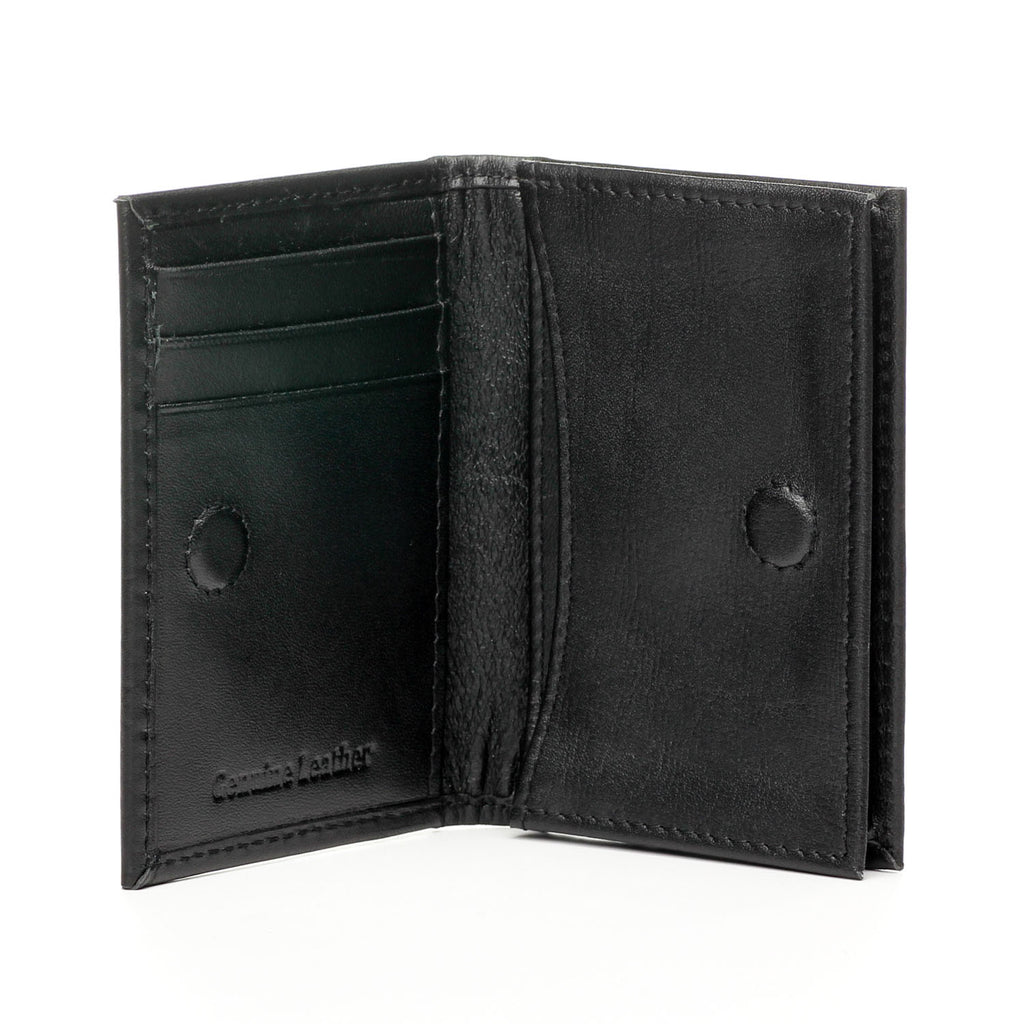 Premium Leather Card Holder for Men-Black - Wallets - Pavers England