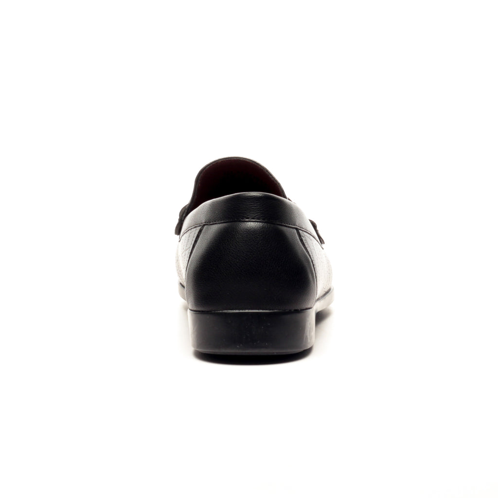 Casual Bit Loafers for Men - Black - Formal Loafers - Pavers England