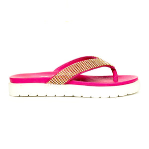 Women's Sandal - Pink - Wedding & Occasion - Pavers England