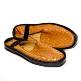 Patterned Leather Shoes for Men