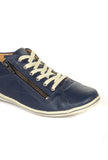 Women's Slip-on Shoe-Navy - Sneakers - Pavers England