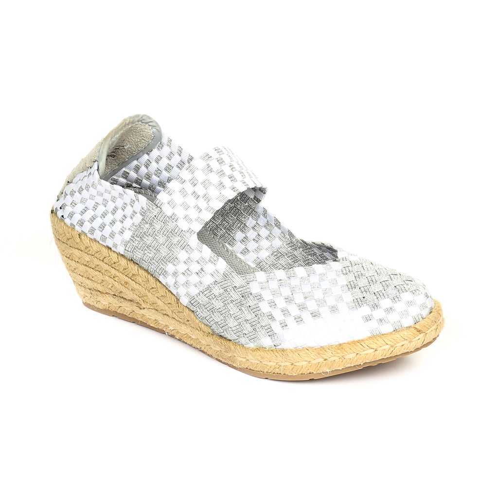 Women's Full Shoe - Silver - Full Shoes - Pavers England