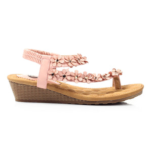Wedge Sandals for Women-Pink - Sandals - Pavers England