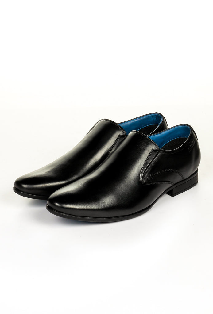 Men's Formal Shoe - Black - Formal Loafers - Pavers England