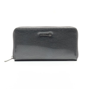 Textured Casual Wallet for Women-Grey - Wallets - Pavers England