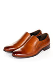 Men's Formal Shoe - Brown - Moccasins - Pavers England