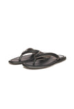 Comfortable Slippers For Men - Black - Open Toe - Pavers England