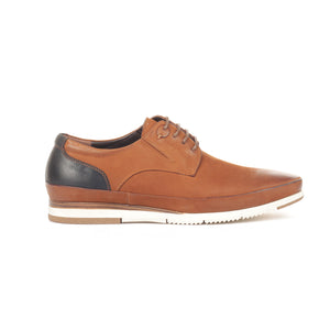 Men's Shoe - Tan - Sneakers - Pavers England