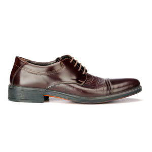 Men's Formal Shoe -  Brown - Laced Shoes - Pavers England