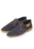 Men's Lace-up Shoe - Navy - Wedding & Occasion - Pavers England
