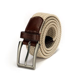 Men's Casual Belt-Beige - Belts - Pavers England