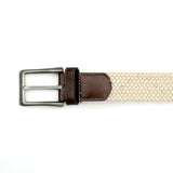 Men's Casual Belt - Beige - Bags & Accessories - Pavers England