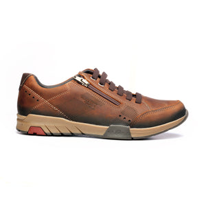 Men's Lace-up Shoe-Brown