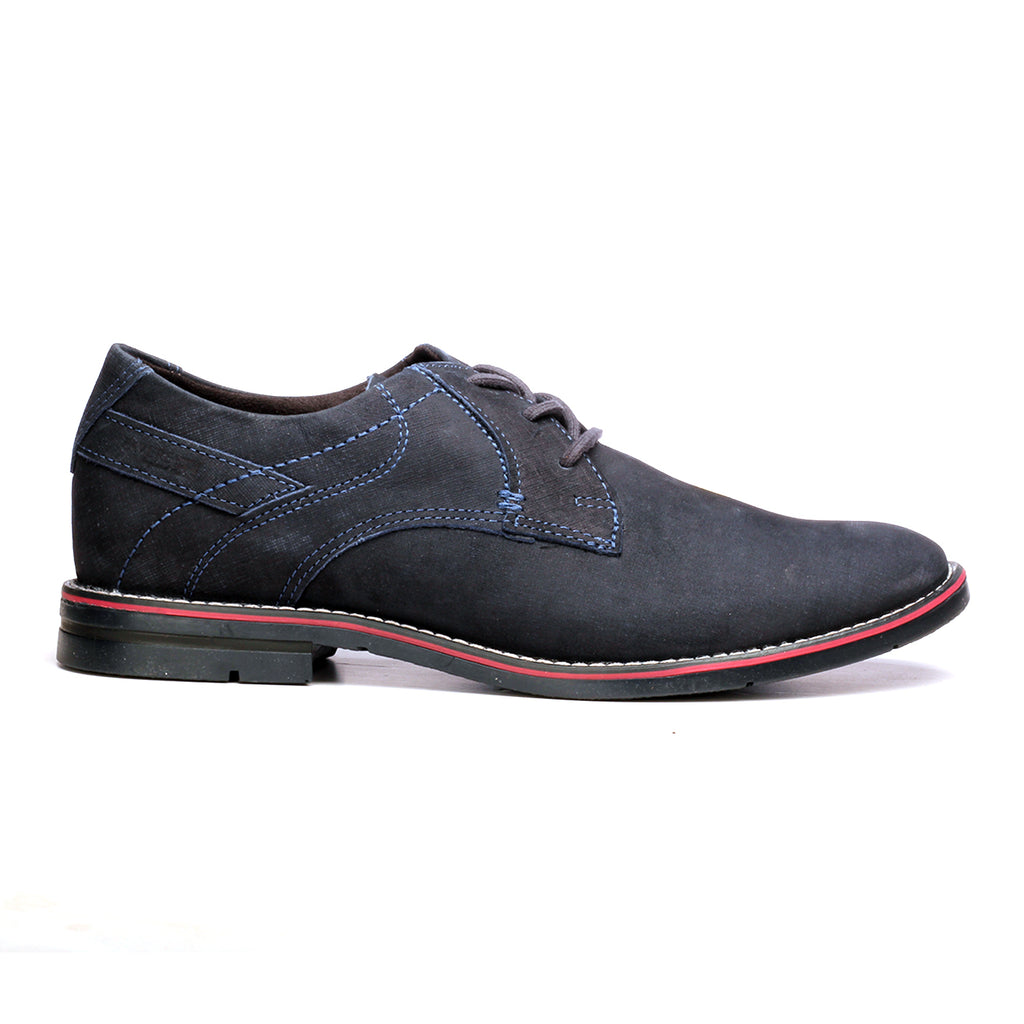 Men's Lace-up Shoe - Navy - Laced Shoes - Pavers England