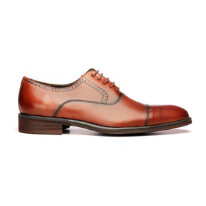 Men's Formal Shoe-Brown - Lace ups - Pavers England