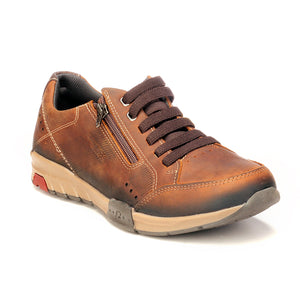 Men's Lace-up Shoe-Brown - Sneakers - Pavers England