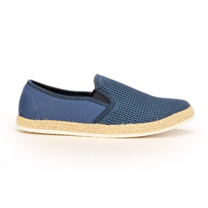 Casual Slip-On Blue Loafers for Men - Navy - Comfort Fits - Pavers England