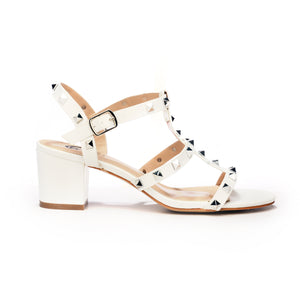 Women's Sandal-White - Sandals - Pavers England