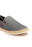 Casual Slip-On Blue Loafers for Men - Grey - Comfort Fits - Pavers England