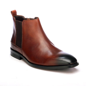 Men's Ankle Boot-Brown - Ankleboots - Pavers England