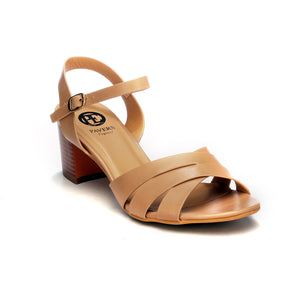 Women's Sandal-Nude - Sandals - Pavers England