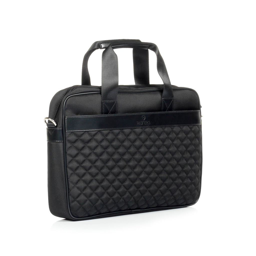 Black Business Leather Bag For Men