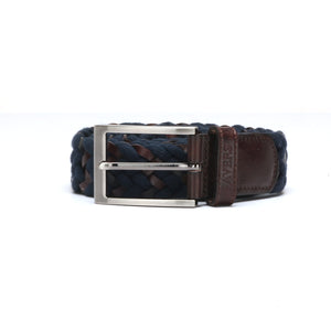 Men's Belt - Navy - Bags & Accessories - Pavers England