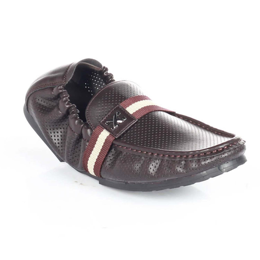 Perforated Leather Shoes for Men